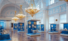 The State Hermitage Museum -  Alexander Hall / St. Petersburg